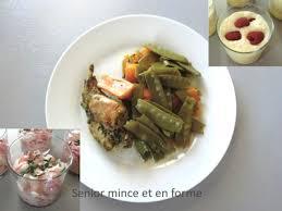 3 recettes cuisine recettes faciles pour un menu équilibré de senior mince
