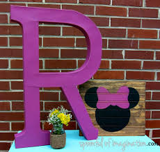 Minnie Mouse Bedroom Decor by Diy Minnie Mouse Silhouette Spoonful Of Imagination
