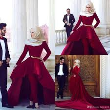Evening Dresses Red Carpet by 2016 Red Carpet Dresses Arabia Said Mhamad High Neck Hi Lo Velvet