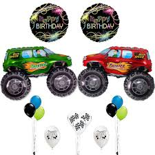 100 Monster Truck Birthday Party Supplies Amazoncom Balloons