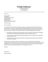 Nurse Practitioner Cover Letter Example Resume Template Free Nursing Pdf