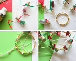 DIY Christmas Hanging Decoration The Craftables Steps 2