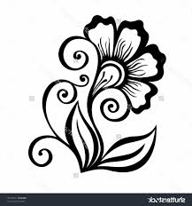 Easy Flower Designs To Draw On Paper Design For Drawing