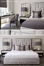 Headboard Designs For Bed by Inspirational Bed Designs With Cushioned Headboard 17 With