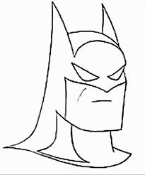 Batman Printable Coloring Pages