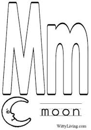 Coloring Pages Letter M