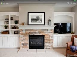 Living Room With Fireplace Design by Shiplap Fireplace For The Home Pinterest Shiplap Fireplace
