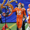 Likely Jaguars selection, Clemson QB Trevor Lawrence officially ...