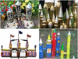 Plastic Bottles Crafts Ideas Castle Backyard Kids