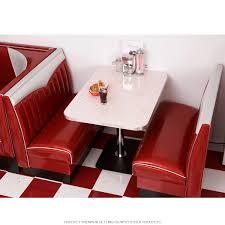 Chevie Designer Diner Booth Set Cool Retro Furniture Rooms In
