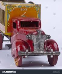Antique Toy Circus Truck Stock Photo (Royalty Free) 68316457 ... Bargain Johns Antiques Blog Archive Buddy L Pressed Steel Antique Cast Iron Arcade Toy Intertional Dump Truck Ride Em For Sale Sold Fire Trucks For Sale Wen Mac Texaco Truck Speechless Sunday Garden Planters Vintage Diecast Metal Milk 1930s Stock Photo 3105894 Aerial Ladder Circa 261930 1937 Ford Pickup Red 124 Scale American Classic Diecast Image Free Space Toys Price Guide Information