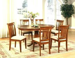 Round Dining Sets For 6 7 Piece Table Set Room