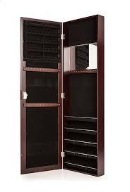 Amazon.com: Locking Jewelry Armoire With Mirror - Wall Mount Or ... Usa Free Shipping Organizer White Wood Rotating Desktop Jewelry Armoire Sewing Table Ikea Computer Corner Desks Amazoncom Hives And Honey Henry Iv Walnut Plaza Astoria Walldoormount Black Diplomat 31557 Watch Cabinet Fniture Beautiful For Home In Powell Classic Cherry Kitchen Ding Mirror With Or Wardrobe Blackcrowus Buy The Haley At Michaels Mele Co Alexis Wooden Belham Living Mirrored Lattice Front