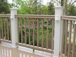 Horizontal Deck Railing Ideas by Staggering Exterior Deck Railing Designs Exterior Gallery Plus