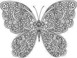Coloring Pages Of Butterflies For Adults 870 Best Images On Pinterest