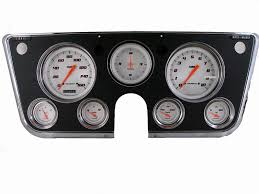 100 Classic Industries Chevy Truck Instruments 196772 Package Gauge Sets CT67VSW
