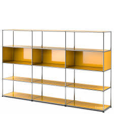 usm haller living room shelf xl golden yellow ral 1004 by