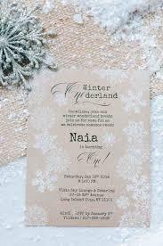 Unique Winter Wedding Invitations Siudy Net