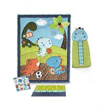 Amazon Com 4 Piece Baby by Amazon Com Kids Line Dino Sports 4 Piece Crib Bedding Set