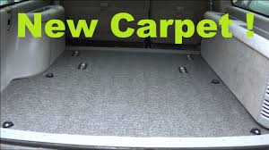 Replace Your Carpet In A Car, Truck, Van, Or SUV ! - YouTube
