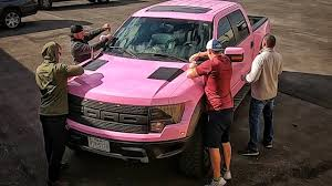 100 Pink Truck Im DONE With This YouTube