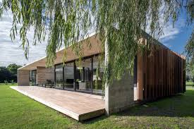 100 Concrete House Designs Luciano Kruk A Board Marked Home Set Amongst The