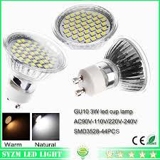 gu10 led lights bulbs warm white nature white cool white 44