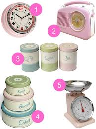 Pink Vintage Kitchen Accessories By Homegirl London Links Here