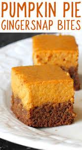 Libbys Easy Pumpkin Pie Mix Cookies by Gingersnap Pumpkin Pie Bites Mama Loves Food