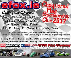E Fox Engineers Ltd Today Announced Details Of Their 2017 Chequered Flag Motorsport Sponsorship Scheme