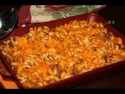gratin de pâtes à la viande hachée pasta beef casserole dish