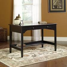 Walmart Sauder Sofa Table by Sauder Edge Water Mobile Lifestyle Desk Estate Black Walmart Com