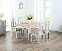 Chic Dining Room Chairs Buy The Grey Shabby Chic Dining Table With