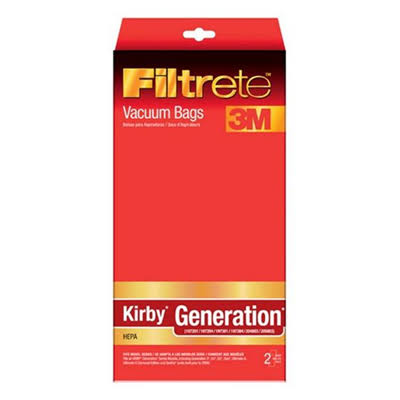 3M Filtrete Kirby Generation Ultra Allergen Synthetic Vacuum Bags