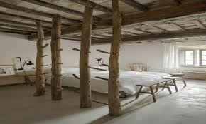 100 Rustic Ceiling Beams Exposed Wooden Pillar Bedroom