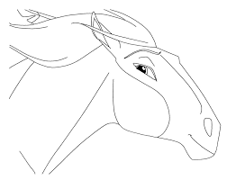 Coloring Pages Of Spirit Animals Horse To Print