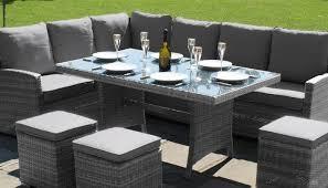patio sofa dining set outdoor corner sofa set russcarnahan