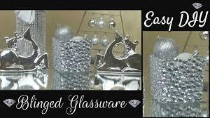 Michaels Crafts Wedding Decorations by Diy Dollar Tree U0026 Michaels Bling Jar Home Decor Craft Youtube