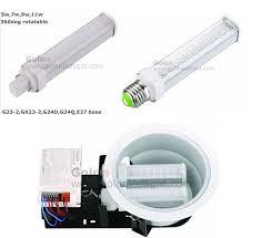 g24 led bulb 11w replace 26w cfl g24q g24d plc led l e27 e26