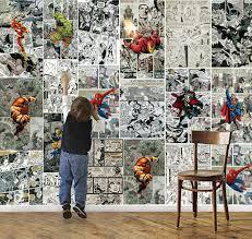 chambre marvel marvel papier peint 3d papier peint pour les murs murale
