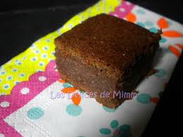 brownies aux marrons les délices de mimm