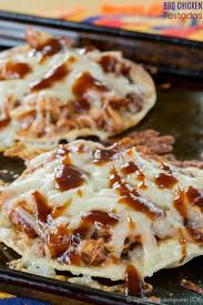 BBQ Chicken Tostadas Recipe