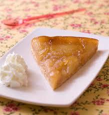 recette dessert aux pommes tarte tatin aux pommes et au gingembre frais les meilleures
