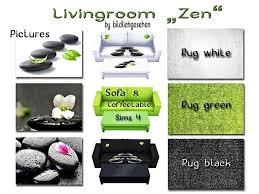 sims 4 livingroom zen the sims wohnzimmer set kaffeetisch