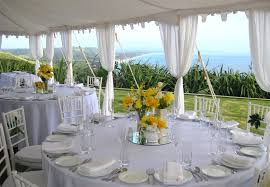 Full Size Of Ideas Outstanding Rustic Wedding Decorations Round Table White Polyester Tablecloth Glass
