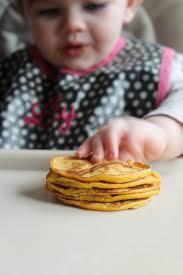 Easy Healthy Pumpkin Pancake Recipe by 4 Ingredient Pumpkin Pancakes For Baby