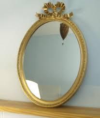mirrors wandspiegel spiegel oval neu gold antik holz