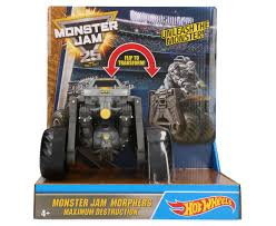 Hot Wheels Monster Jam Morphers Maximum Destruction | CatchOfTheDay ... Maximum Destruction Monster Truck Toy List Of 2017 Hot Wheels Jam Trucks Wiki Battle Playset Walmart Intended For 1 64 Max D Yellow 2016 New Look Red Includes Rc Remote Control Playtime Morphers Vehicle Jual Stock Baru Monster Jam Maxd Revell Maxd Model Kit Scratch Catchoftheday