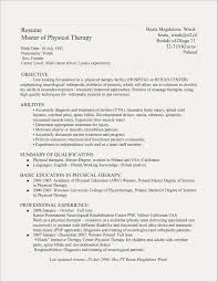 Resumes For Massage Therapist Resume Template Licensed Examples