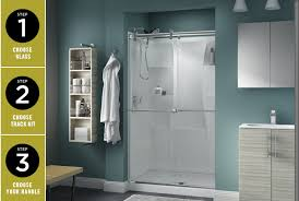 Bathtub Splash Guard Glass by Shower Door Design Installation Glass Doors Handles